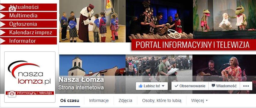 Head Facebook /naszalomza.pl/